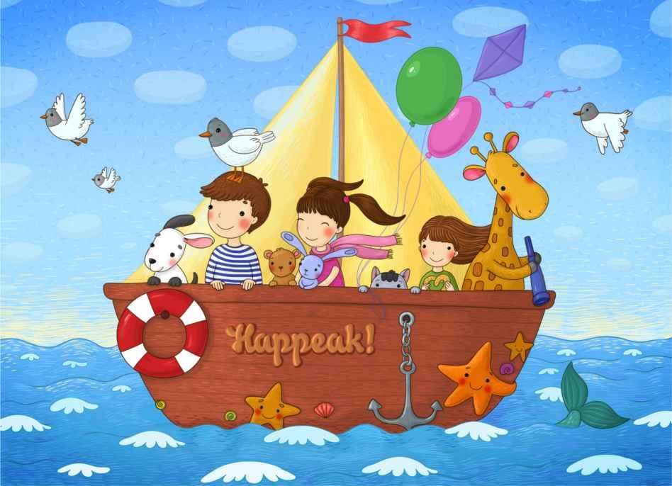 Бесплатная открытка от интернет-магазина Happeak